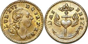 P1644 Rare Jeton Louis XVI Das Beste Coeur Heart SPL ->Faire offre