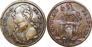 P1647 Token Louis XVI 1774 1793 Optimo Principi Reich - Make offer