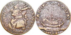 P1675 Token Louis XVI 1774 1793 Optimo Principi 1794 - Make offer