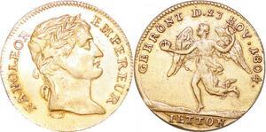 P1727 Allemagne Jeton Napoléon Empereur Le couronnement 1804  SUP-> Faire offre