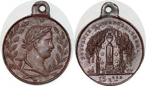 P1734 Médaille Napoléon I er Souvenir Immortel 1840 Retour des centres SUP