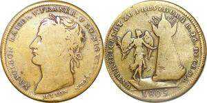 P1788 Token Napoléon Kaiser Empereur Koenig Italien Roi Italie ->Make offer