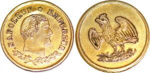 P1800 Rare Médaille Jeton Napoléon Empereur Aigle Royal SUP ->Faire offre