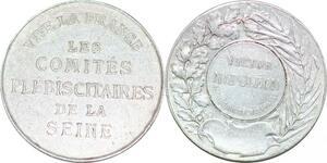 P1814 Médaille Victor Napoléon V Prétendant trône France 1862 1926 SUP