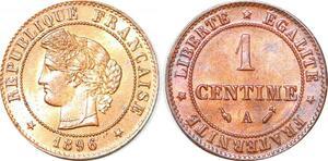 P1826 France 1 centime Cérès 1896 A Paris FDC Un Bijou !! - Faire Offre
