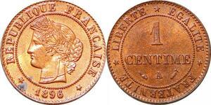P1827 France 1 centime Cérès 1896 A Paris FDC Un Bijou !! - Faire Offre