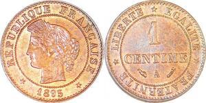 P1832 France 1 centime Cérès 1895 A Paris FDC Un Bijou !! - Faire Offre