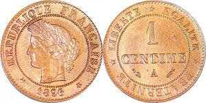 P1833 France 1 centime Cérès 1896 A Paris FDC Un Bijou !! - Faire Offre