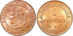 P1836 France 1 centime Cérès 1895 A Paris FDC Un Bijou !! - Faire Offre