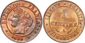P1846 France 1 centime Cérès 1896 A Paris SPL - Faire Offre