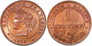 P1848 France 1 centime Cérès 1896 A Paris SPL - Faire Offre