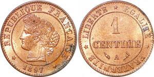 P1851 France 1 centime Cérès 1897 A Paris SPL - Faire Offre