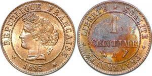P1877 France 1 centime Cérès 1895 A Paris FDC Un Bijou !! - Faire Offre