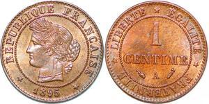 P1878 France 1 centime Cérès 1895 A Paris SPL Un Bijou !! - Faire Offre