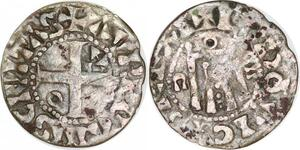 P1941 Louis VI Denier d'Orléans 1108-1137 Avrelianvs Civitas Argent ->F offre