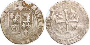 P1987 Valois Louis XII 1498 - 1514 Douzain Dauphiné Romans Argent ->F offre
