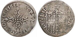 P2053 Scarce Italy Mantova Monferrat Margherita Guglielmo Gonzaga 1563