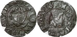 P2084 Les trois évêchés Metz Liard de billon 1655 Moneta Metensis ->Faire offre
