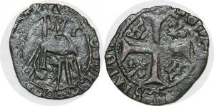 P2095 Tres Rare Louis XI Imitation Hardi ? Perpignan La Rochelle Bordeaux ?