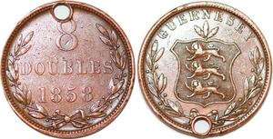P2348 Guernsey 8 Doubles 1858 ->Make offer