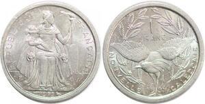 P2382 Nouvelle Calédonie 1 Franc 1973 SPL ->Faire offre