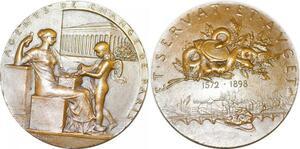 P2492 Médaille Art Agents de Change Bourse Paris 1898 Roty Splendide ->F offre