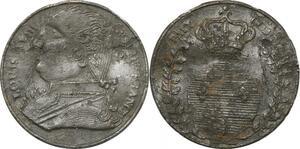P2738 Médaille Louis XVIII Paix et Commerce Desnoyers