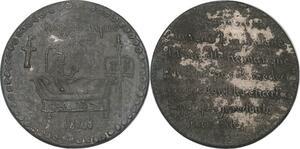 P2938 Médaille République 1848 Lit de Mort Médecin ->Faire offre