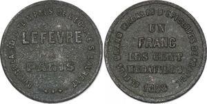 P2945 Médaille Un France Les Cent Médailles 1858 ->Faire offre