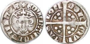 P3199 Rare Great Britain Penny Edward I 1272-1307 EDWR' ANGL DNS hYB London