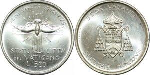 P3475 Vatican 500 Lire 1978 Cité Sede Vacante Silver FDC >M offer