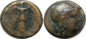 P3829 Greek Seleukid Antioch Alexander I Balas 152-145 BC Boeotian helmet