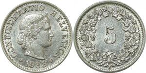 P4157 Schweiz 5 Rappen 1939 B Berne AU -> Make offer