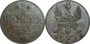 P5925 Germany Frankfurt am Main Heller 1821 F -> M Offer