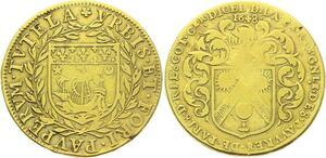O4031 Rare R2 Jeton Louis XIV Noblesse Pierre Lescot Recette Pauvres Paris 1648