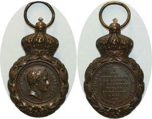 O5101 Medaille Napoleon I Campagnes 1792 1815 St Hélene 1821 ->M offer