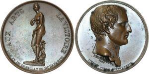 O5601 Rare Medaille Consulat Napoleon Vénus Médicis 1803 Jeuffroy desnoyers SUP