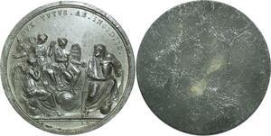 O5870 Rare Medaille Uniface Consulat Napoléon I ManfRedini 1800 desnoyers SUP
