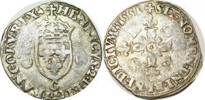 O9690 Douzain aux Croissants Henri II 1551 C Saint-Lô ->Make offer