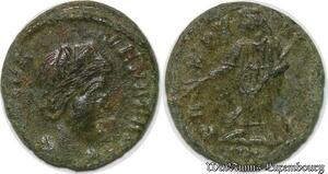 S1372 Helena Augusta, 324-328/30 Follis Constantinople 337-341 XF !