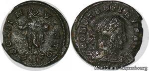 S4921 Follis Constantin I Le Grand Treveri Soli Invicto Ptr 307-337