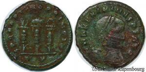 S5086 Maximinus Daia 310-313 Follis Ostia Spqr Optimo Principi -> Faire Offre