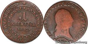 S5483 Allemagne Autriche Osteeich 1 Kreutzer Franz II 1812 B - Faire Offre