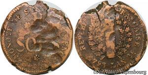 S5657 Rare Convention 5 Sols Siege de Mayence 1793 An 2 - Faire Offre