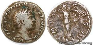 S5921 Hadrien Denier IMP Caesar Traian - Hadrianvs AVG Silver >M offer