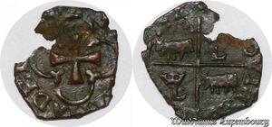 S5986 Rare  Louis XIII Vaquette du Béarn du 1er type sans date ->Faire Offre