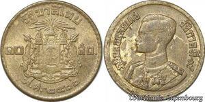 S8640 Thailand 10 Satang Rama IX 2500 1957 -> Make Offer
