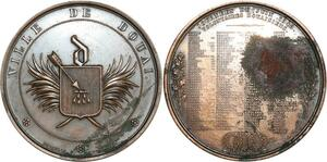 O8289 Médaille Journées Juin volontaires Douai depaulis 1848 ->Make offer