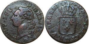 O8358 Rare Sol Louis XVI 1779 D Lyon ->Make offer