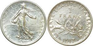 O8816 Franc Semeuse 1917 Argent SPL ->Make offer
